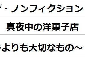 ザ・ノンフィクション 真夜中の洋菓子店 ~ケーキよりも大切なもの~   の感想