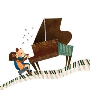 ピアノの調律&来春の役員の話