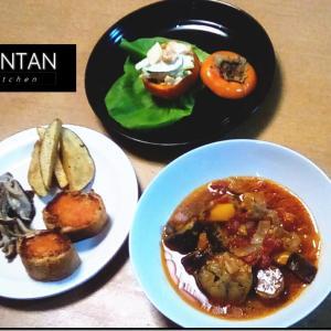 秋のディナー
