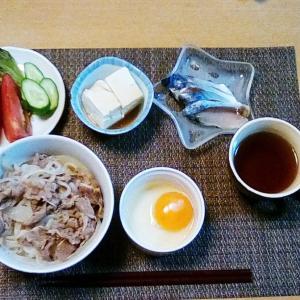 困った時の牛丼!!!!