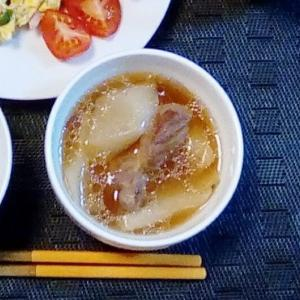 【圧力鍋で作る】豚バラ肉と大根の煮込み