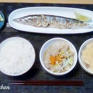 我が家の「もつ煮」定食