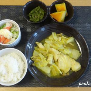 タラの白菜カレー煮