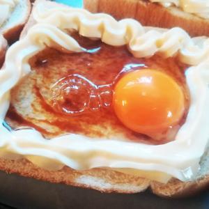 オイスターテイストのエッグトースト
