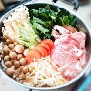 【超簡単】香味シャンタンで作る!胡麻豆乳キムチ鍋の作り方