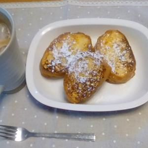 フレンチトースト&アイスカフェラテ