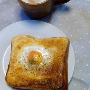 簡単・美味しい・エッグトースト