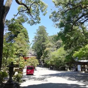 コロナ退散祈願にかこつけてプチ観光  石上神宮にて(奈良県天理市)