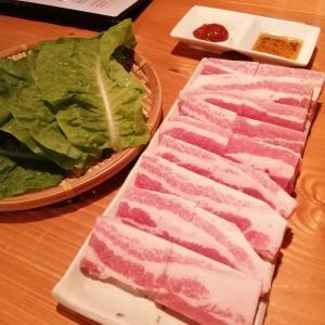 定額給付金10万円で外食するシリーズその34   サムギョプサル専門店のテジさん