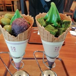 定額給付金10万円で外食するシリーズ37 愛知西尾の抹茶スイーツ(西条園あいや本店)