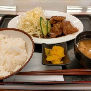 亀山ハイウェイオアシスでトンテキを食べる