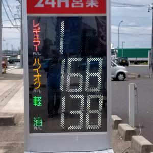 最近ガソリン高いですね