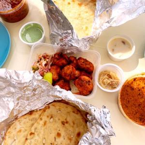 久々にインド料理レストランにオーダーした日