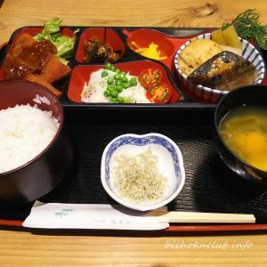 新型コロナ終息祈願に祇園祭の山車のあるお店で定食 ごはん処矢尾定