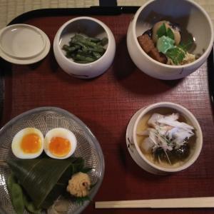 瓢亭 | 朝粥とゆで玉子で有名なお店へ