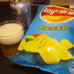 台北旅行(2020年1月)1日目終了~部屋飲み 台湾ビール