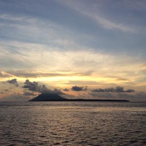 マナドからバリ島へ LION AIRに乗りました。