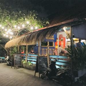バリ島スミニャックのイタリアン Warung Italian Corner。