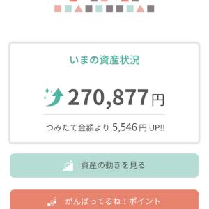 tsumiki証券 九ヶ月目