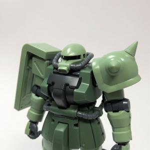 HGUCザクⅡF2型 製作① 仮組み