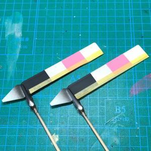 HGTOシャア専用ザクⅡ赤い彗星Ver.  製作⑥ 洗浄・塗装色を考える