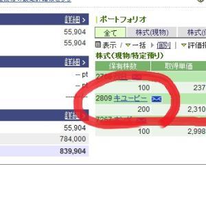 【11月権利確定日】キューピー株保有できた配当金期待株主優待も?