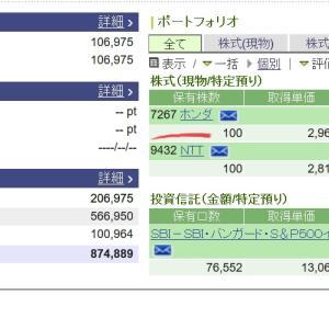 【日経平均株価】2月26日大幅下落驚きでホンダ買い注文どうなる?