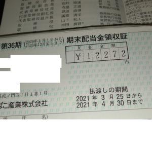 【配当金】2021年3月JT株から減配?話題の銘柄いくら?