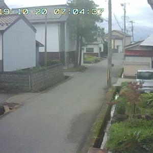 10/20 喜多方の今のお天気