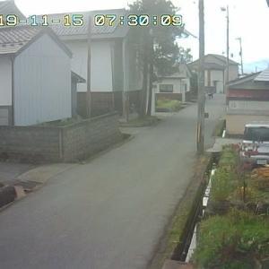 11/15 喜多方の今のお天気