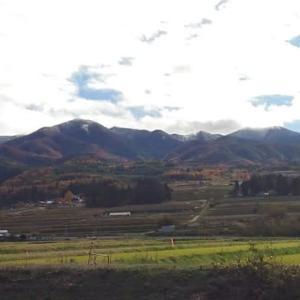 雄国山は初冠雪