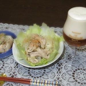 11/19 鶏ももの野菜炒め