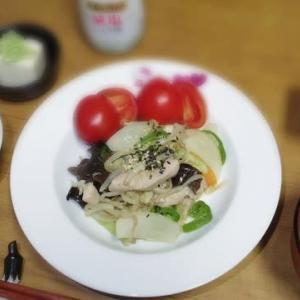 11/20 野菜炒め
