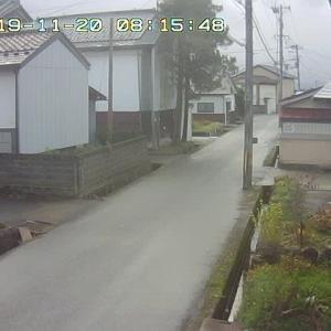 11/20 喜多方の今のお天気