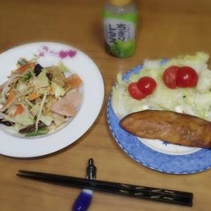 12/6 生鮭のガーリック醤油味