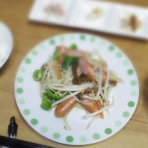 12/13 野菜炒め