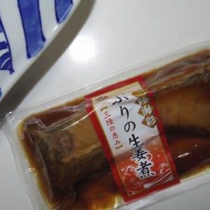 2/27 ブリの生姜煮