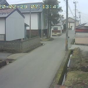 2/29 喜多方の今のお天気
