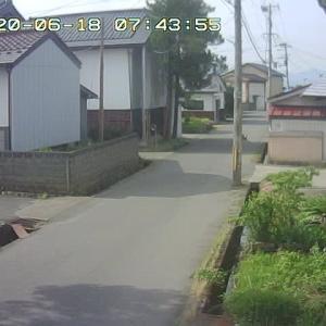 6/18 喜多方の今のお天気
