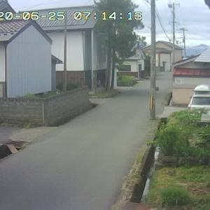 6/25 喜多方の今のお天気