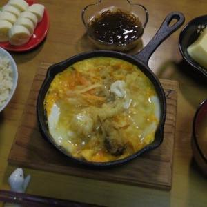 9/23 天ぷらの卵とじ