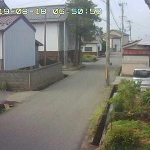 8/18 喜多方の今のお天気