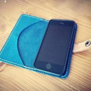 iPhoneSEの手帳型ケースの作り方