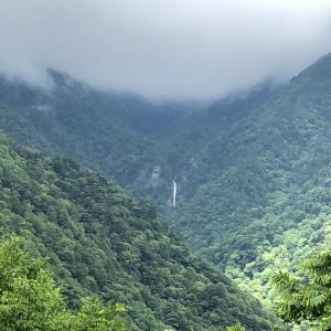 新緑の石鎚山へ