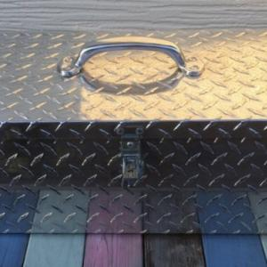 【中古】リサイクルショップ「セカンドストリート」でアルミのツールボックスをゲット!ピカピカに磨いていくっ!