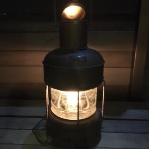 【マリンランプ】レトロなビンテージランプは雰囲気最高だった!?日本船燈「ニッセン船舶ランプ」