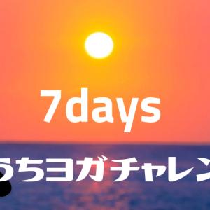 【ダイエット19週目】7日間ヨガチャレンジ!