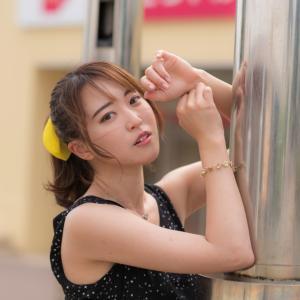 泉中央で待ってるね!見つめ続ける杏ちゃん♪ by かたさん@泉中央撮影会。