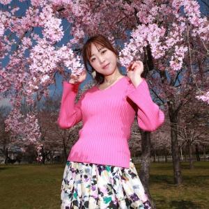 桜とスタジオ2パターン♪可愛くかっこよく♪by Tsukasaさん@リクエスト撮影。