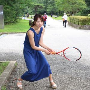 テニス!涼しくなったらやりたいなぁ♪by こばさん@リクエスト撮影。